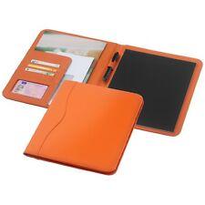 Gepolsterte Lederoptik Portfolio / Schreibmappe Ebony DINA4 moderne Farben -NEU-