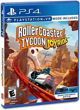 PLAYSTATION 4 PS4 VIDEO GAME ROLLERCOASTER TYCOON JOYRIDE BRAND NEW AND SEALED