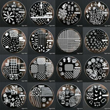 Manicure Nail Art Printing Image Stamp Plate Stamper Decor Tool Set 60 Style