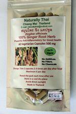 Organico radice di zenzero 100% - 500mg x 60 CAPSULE VEG-naturale super alimento