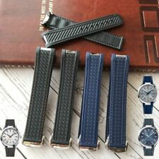 20 Rubber Watch Band Strap for Omega Seamaster 300 AQUA TERRA AT150 8900