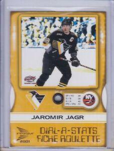 Jaromir Jagr 2000 Pacific McDonald's Dial-A-Stats Card 5