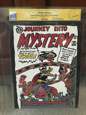 Journey Into Mystery #83 CGC Stan Lee Signature! Signed! Erik Og Painting! cm