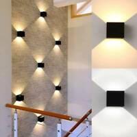 LED Wall Lights 2Pcs 12W LED Wall Light Up Down Indoor Wall Lamp Modern Aluminiu