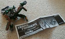 Ex con Transformers car vehicle Hailstorm & original instructions leaflet