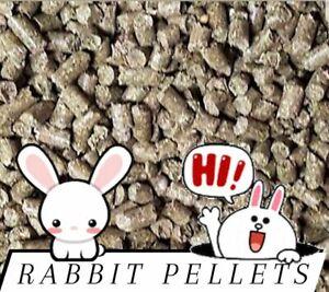Premium Rabbit Pellets Complete Diet Food **Choose size**