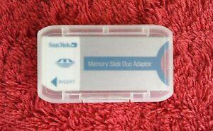 SanDisk Memory Stick Duo Adaptor 20-90-00125(see description for usage)