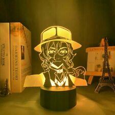 3D Lamp Bungo Stray Dogs LED Night Light Nakahara Chuuya Bedroom Desk Decor Gift