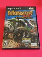 🔥 SONY PS2 PlayStation Two 💯 COMPLETE WORKING GAME 🔥 MONSTER 4X4 Masters🔥