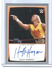 WWE Hulk Hogan 2015 Topps Road To WrestleMania SILVER Autograph Card SN 21 of 25