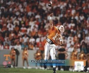 "Peyton Manning Tennessee Volunteers Football Action Photo (8"" x 10"")"