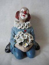 """Gilde Clown """"Der Blumenfreund kniend"""""""