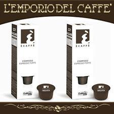 Caffè Caffitaly Ecaffè Corposo Espresso Forte 100 Capsule Cialde - 100%Originale