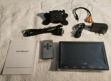 7'' TFT LCD Display Color TFT Monitor Video + Accessories/Manual/Box (New)