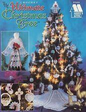 Ultimate Christmas Tree, Annie's Attic Crochet Pattern Booklet 879404 HTF OOP