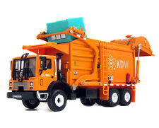 KAIDIWEI 1/43 Scale Diecast Material Transporter Garbage Truck KDW Model Orange