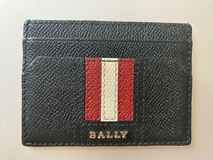Immaculate Authentic BALLY card holder wallet