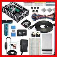 Smraza Raspberry Pi 3 B+ Case W Fan 3B Starter Kit 16GB SD Card 2.5A Power Suppl