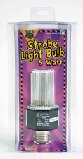 PARTY STROBE LIGHT Light Bulb Props Haunted House Disco Halloween Supply  B49