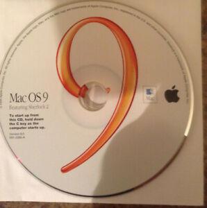 Retail Apple Mac OS 9.0 CD FREE SHIPPING