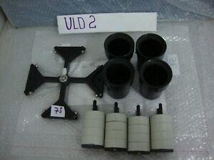 Heraeus 8179 Rotor W/ 8172 Buckets & Inserts for Labofuge 400 Centrifuge