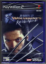 PS2 X-Men 2 Wolverine's Revenge (2003), Royaume-Uni PAL, Brand New & Sony FACTORY SEALED