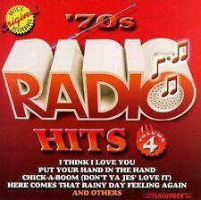 70's Radio Hits, Vol. 4 by Various Artists (CD, Jun-1997, Rhino Flashback)