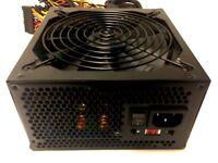 1050W ATX Power Supply 14CM Fan Quad SLI for ATI CrossFire Intel AMD Board New