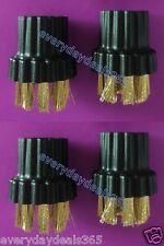 Brosses Compatible Pour X700, X500, H20 X5 buse / Nettoyeur vapeur - 4 brosses fil