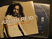 "JUNIOR REID ""ACTIONS SPEAK LOUDER THAN WORDS"" - MAXI CD"