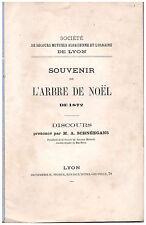 SCHNEEGANS Auguste - SOUVENIR DE L'ARBRE DE NOEL DE 1872