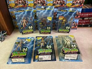 Lot of 6 Todd McFarlane Toys Spawn Action Figure Set Collection of 1995 NIP (1)