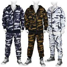 Jogginganzug Camouflage Freizeit Sportanzug Kinder Set: Jacke + Hose #Tarn 323