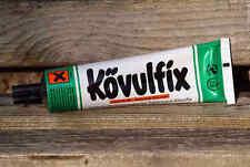 KÖVULFIX Lederkleber Bastelkleber PVC Leder Kork Filz Holz Furniere Papier 60g
