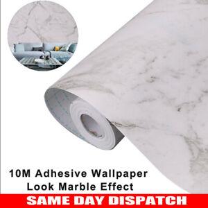 Granite Look Marble Effect Contact Paper Film Vinyl Self Adhesive Wallpaper 10m