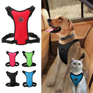 Air Mesh Pet Dog Car Harness Safety for X-Small Large Dog Puppy Travel Chihuahua