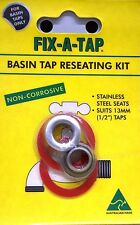 """FIX-A-TAP BASIN TAP RESEATING KIT NON CORROSIVE - SUITS 1/2"""" 13mm TAPS"""