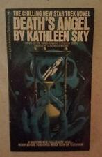 Death's Angel   (paperback) Kathleen Sky 1st printing