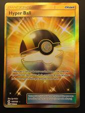 Carte Pokemon HYPER BALL 161/149 Secrète Soleil et Lune 1 Française NEUF