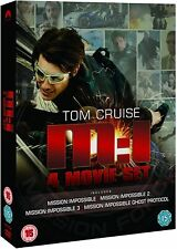 Mission Impossible 1-4  Box Set  [DVD]    (Brand New)