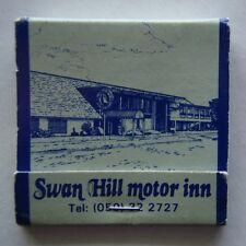 SWAN HILL MOTOR INN 405 CAMPBELL ST 050 322727 SILVER SLIPPER BAR MATCHBOOK