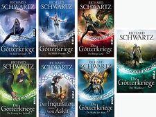 Die Götterkriege Serie Richard Schwartz Die Rose von Illian Der Wanderer