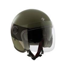 Casco Helmet Jet El'jet Verde scuro opaco Tucano Urbano Size M