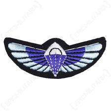 Modern British SAS PARACHUTE WINGS Padded Uniform PARA Patch Jump Badge Repro