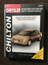 Chrysler Concord, Intrepid, LHS, New Yorker, and Vision 1993-1997 Chilton Repair