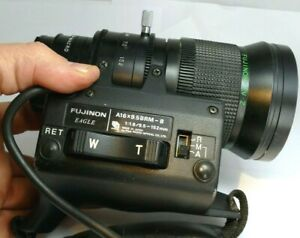 Fujinon A16X9.5BRM-8 Lens Broadcast TV Zoom Z 9.5-152mm f1.8