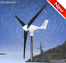 3 SETS of 600W/24V Wind Turbine Generator Wind Mill+ WP Controller+ CFRP Blades
