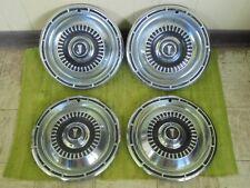 "1965 Plymouth Hub Caps 14"" Set of 4 Mopar Wheel Covers 65 Hubcaps"