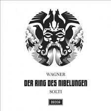 Wagner: Der Ring des Nibelungen ECD (CD, Jun-2015, 17 Discs, Decca)