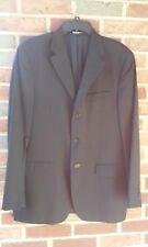 Neiman Marcus Men's  Blue 100% Wool Blazer Sport Coat Suit Size 42 Reg